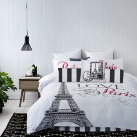 Paris 7pc Microfiber Comforter Set
