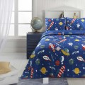 Little Adrien - Explorer Collection 3pc Microfiber Quilt Set