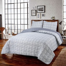 Lt, Urban 3pc Microfiber Quilt Set