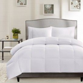 Wh - Down Alternative T233 Cotton Duvet