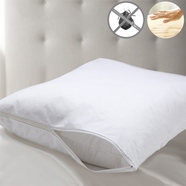 Memory Foam Pillow With Bed-bug Protector Cover