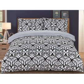 Lt - Enya Collection 3pc Printed Duvet Cover Set