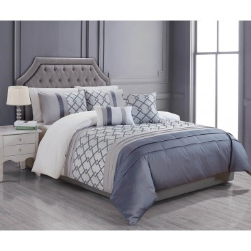 Lt Signature - Verena 5pc Duvet Cover Set