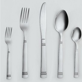 Alc - 20pcs Stainless Cutlery Set
