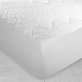 Tencel- Blend Jacquard Mattress Pad
