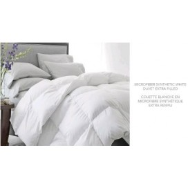 S7, Microfiber Synthetic White Duvet Extra Filled