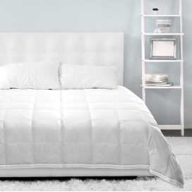 Wh - Microgel Duvet T233-100% Cotton