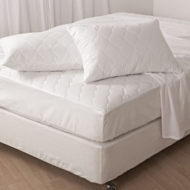Antibacterial 230tc Mattress Pad And Pillow Protector