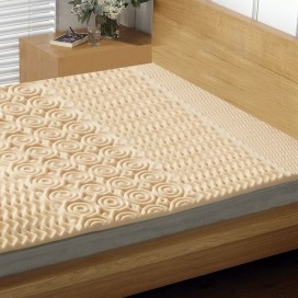 S7 - Convoluted Foam Mattress Topper - 5 Zones