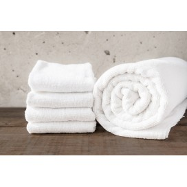 "Wh - Bamboo Deluxe Hand Towels Set Of 4 [16x30""]"
