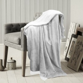Lt - Microfleece Solid Color Blanket 60x80""