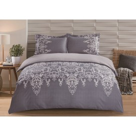 Enya Collection 3pc Printed Duvet Cover Set Full