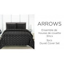 Al - Arrows Printed Duvet Cover Set