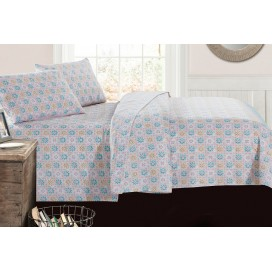Mm - Pastel Argyle Sheet Set