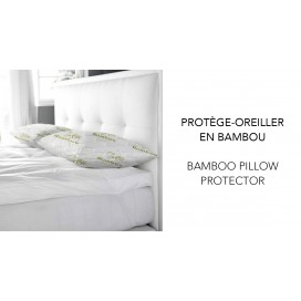 WH - Bamboo Pillow Protector