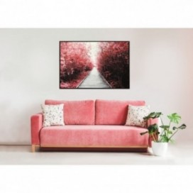 Lauren Taylor - Framed Printed Canvas 31.5x47 Inch Red