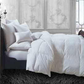 All Season White Duck Down Blend Duvet