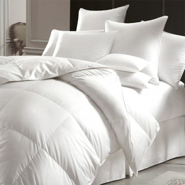 Urban White Feather Microfiber Duvet