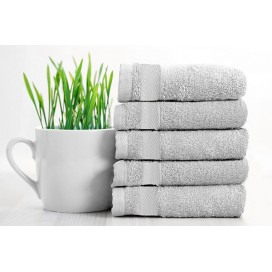 Rayon Bamboo Towels Hands Set Of 5