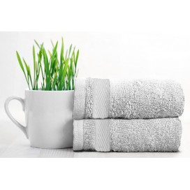 Rayon Bamboo Towels Bath Set Of 2