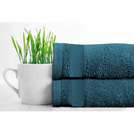Rayon Bamboo Towels Bath-Sheet Set Of 2