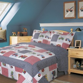 Connor Microfiber Quilt Set 2pcs