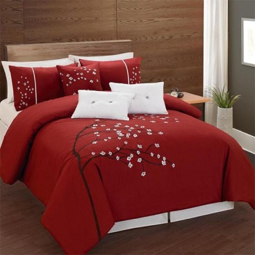 Rosso 6pc T200 Cotton Comforter Set