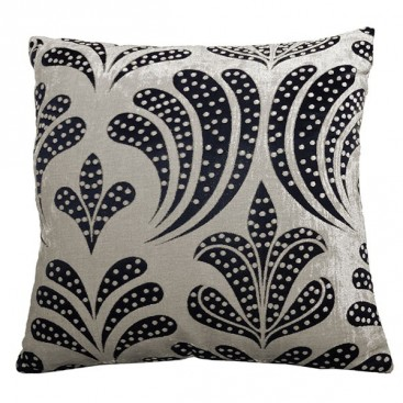 Lily Jacquard Printed Square Cushion 18x18 In
