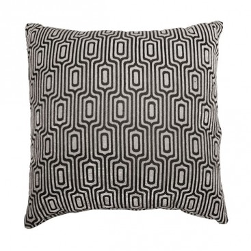 Losenge Jacquard Printed Square Cushion 18x18 In