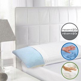 Reversible Shredded Memory Foam With Cooling Gel Pillow