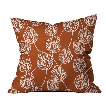 Bice Cotton Printed Square Cushion (18x18 In)