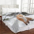 Cozy Collection - Animal MicroMink Blanket Fox