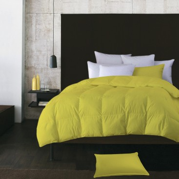 Microfiber Feather Solid Color Duvet